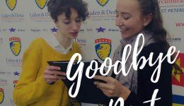 Goodbye Chiara!