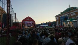 Fan Fest in Saint Petersburg!