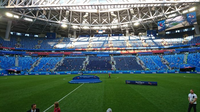 St Petersburg Stadium 3rd place
