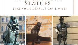 St. Petersburg Statues That You're Sure To See