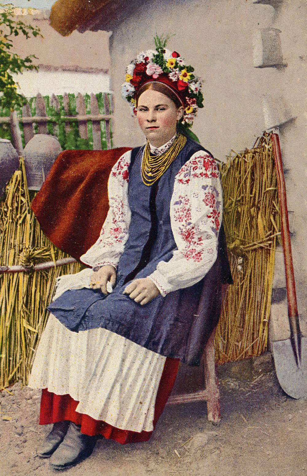 Ethnic groups: Vyshivanka, Ukrainian Dress
