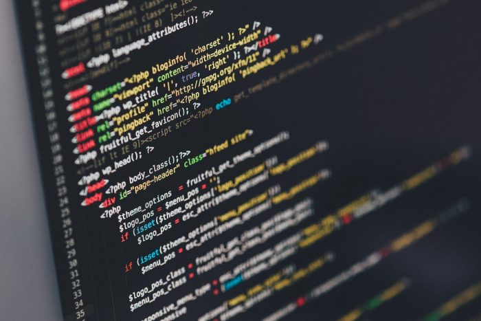 Tech startup coding