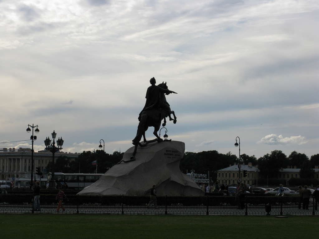 Top 5 St Petersburg photo spots