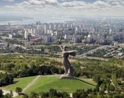 The Motherland Calls Statue Structure