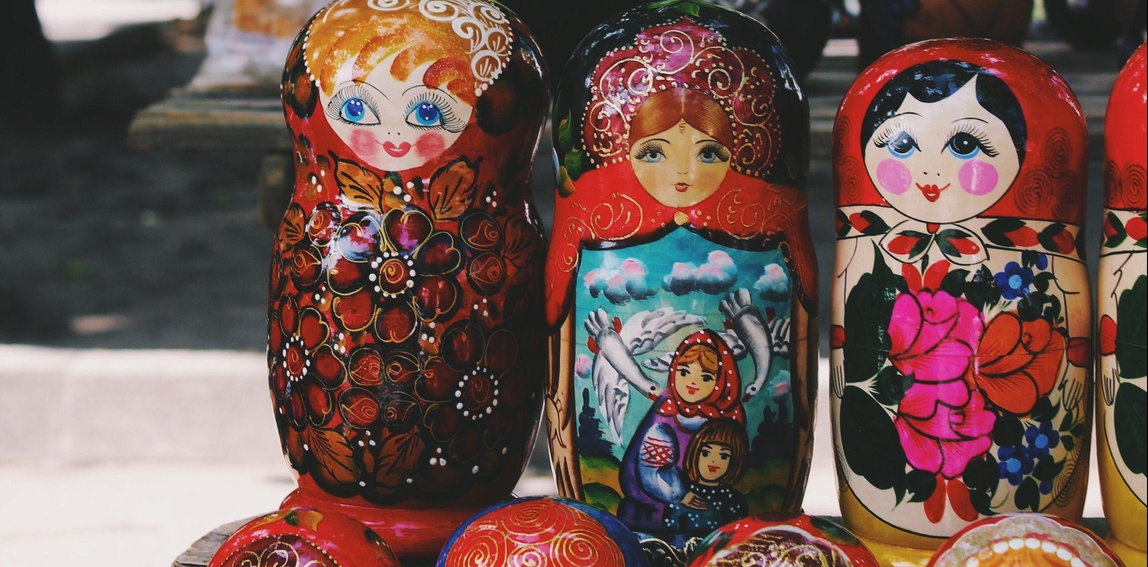 Russian Polite doll