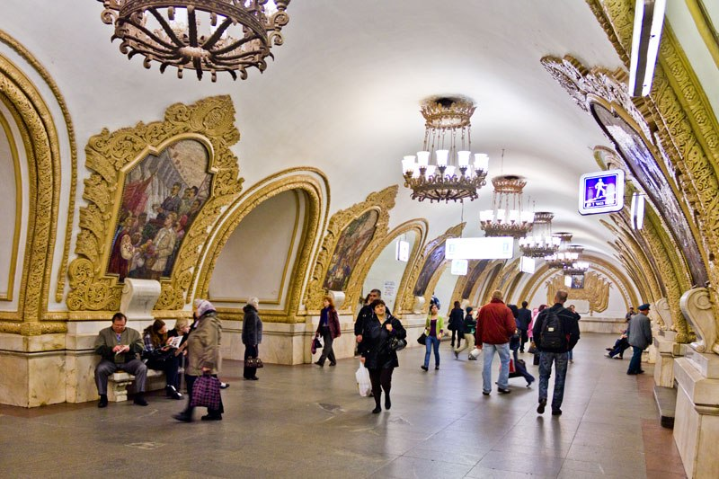 Observations Of The Moscow Metro
