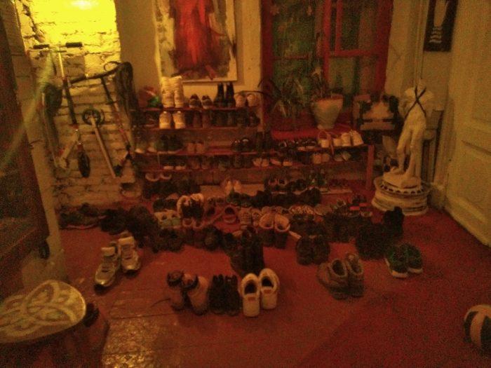 Triglinki shoes